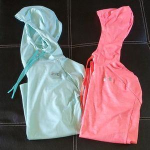 Under Armour running/ workout  hoodies